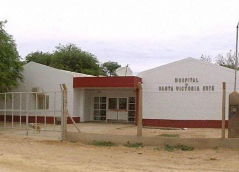 Una niña wichi se recupera en el Hospital de Santa Victoria Este por un cuadro de deshidratación.
