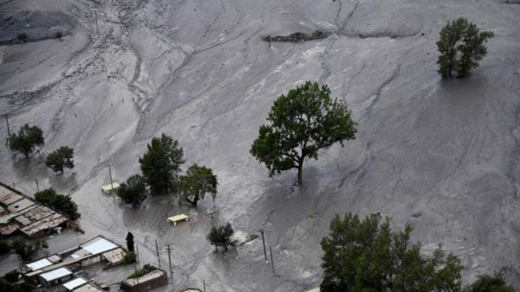 Jujuy bajo el agua, las impactantes imágenes del temporal y un alud que no se registraba desde hace 40 años.