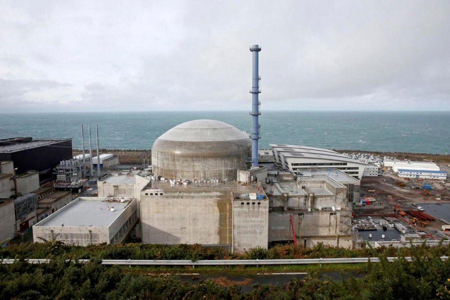 Imagen de la central nuclear
