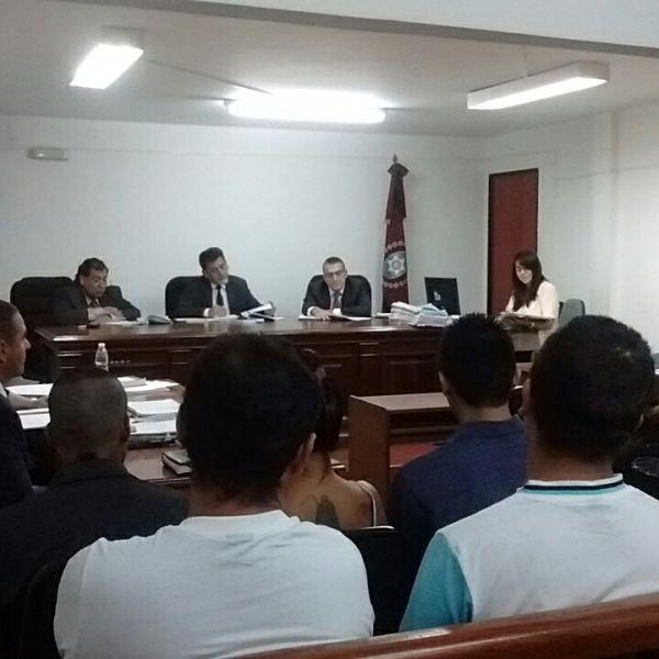 Tribunal que lleva la causa por el homicidio de Jonathan Martínez.