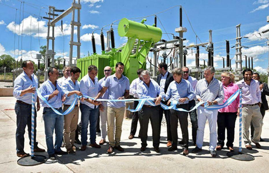 El acto inaugural de la obra eléctrica de 125 kilómetros que llevará desarrollo al norte salteño.