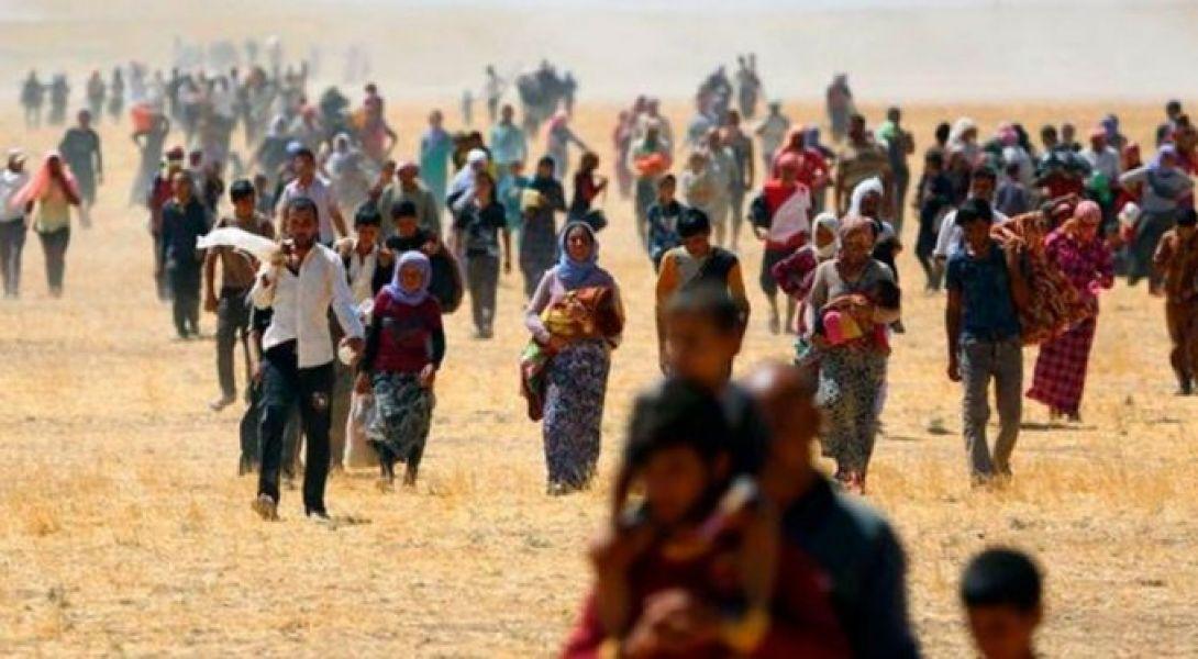 Las ofensivas siguen profundizando la crisis humanitaria en Irak y Siria y la población civil es la que más sufre.