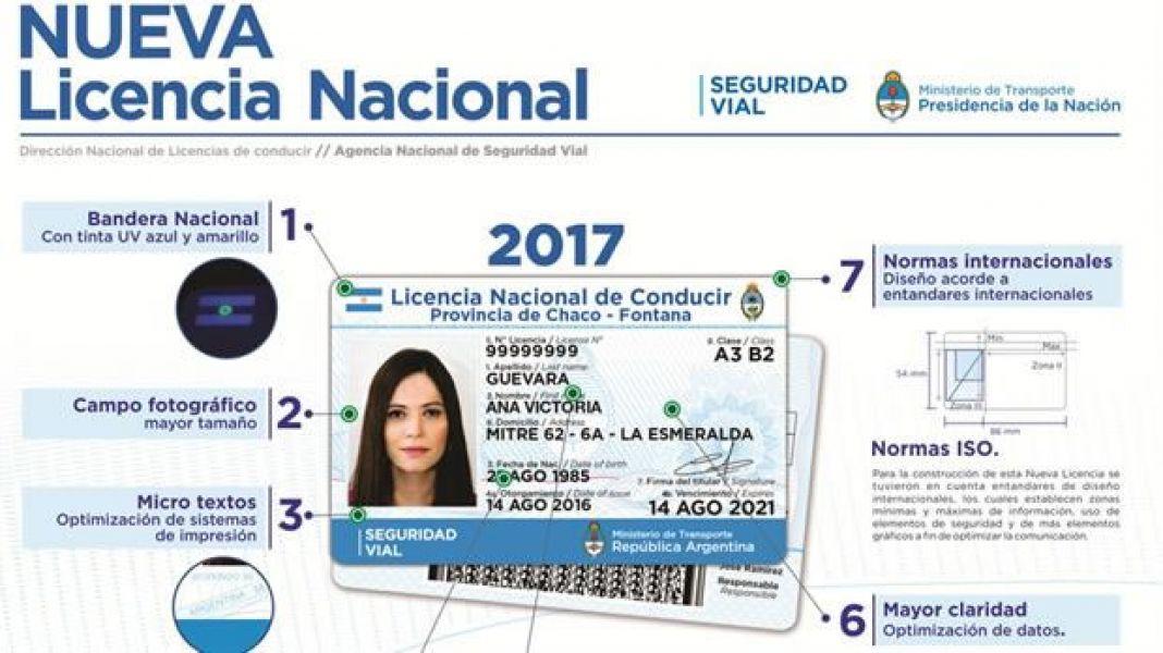 Detalles de la nueva licencia de conducir presentada por autoridades delMinisterio de Transporte.