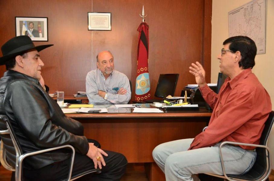 Aunque hoy el Chaqueño lo negó, en esta reunión con Mascarello y Marinaro Rodó habría surgido la propuesta a ser candidato a Diputado.