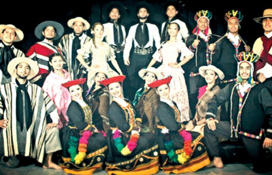 El Ballet Folclórico Salta. Para el concurso de bailarines titulares del Ballet, las inscripciones se abren el 20 de marzo.