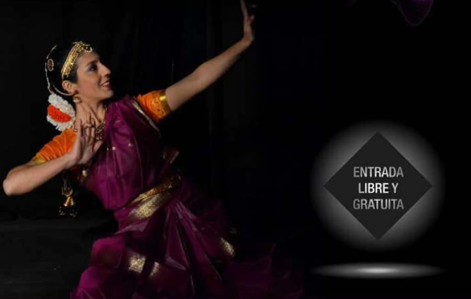 Chandika ofrecerá una charla introductoria gratuita sobre el curso de Danza Sagrada del Sur de la India.