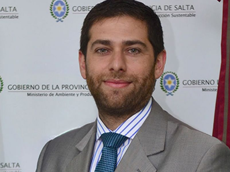 Javier Montero ministro del gabinete provincial.