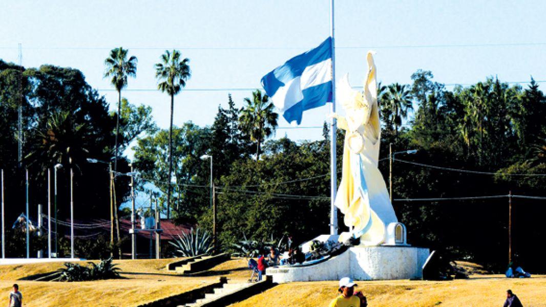 El Campo Histórico de la Cruz, escenario del Aniversario de la Creación de la Policía de la Provincia.