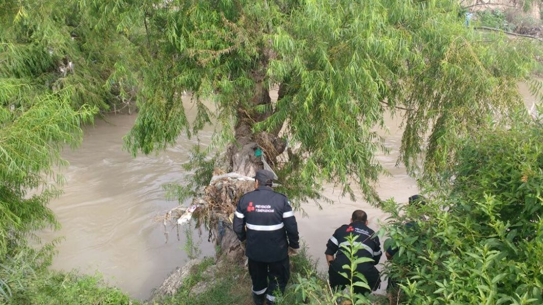 El Río Arenales aparentemente apacible, representa un peligro por el aumento de su caudal durante la temporada de Verano.