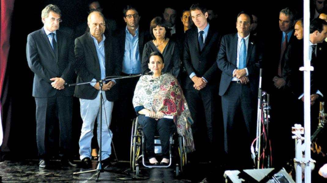Michetti recordó el atentado a la Embajada de Israel en Argentina de 1992 que causó 22 muertos y 242 heridos.