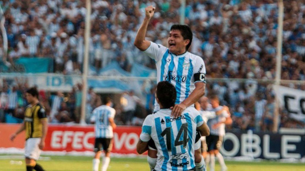 """El """"Pulga"""" Rodríguez estará esta tarde en el once de Atlético cuando reciba a Aldosivi de Mar del Plata."""