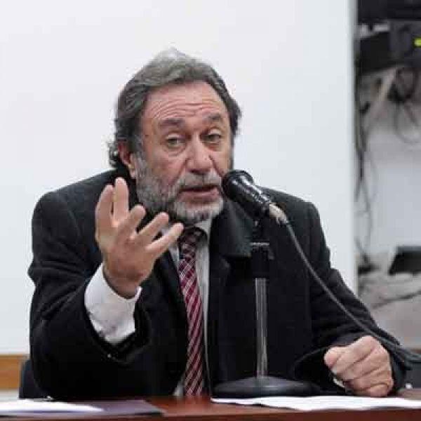 Fiscal Jorge Auat, titular de la Procuraduría brindó un informe sobre Crímenes contra la Humanidad.