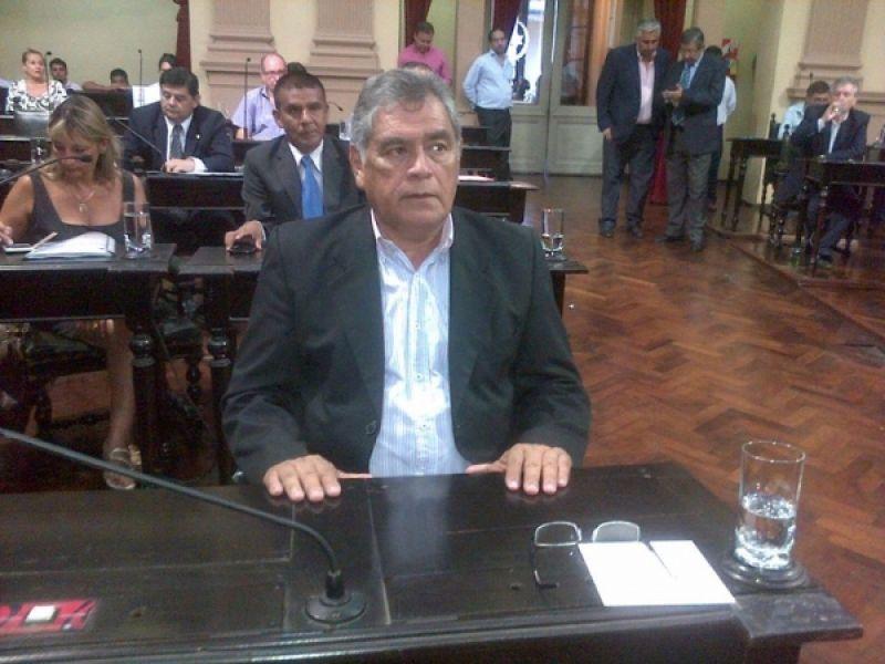 Ángel Gómez, senador representante del departamento de Anta.