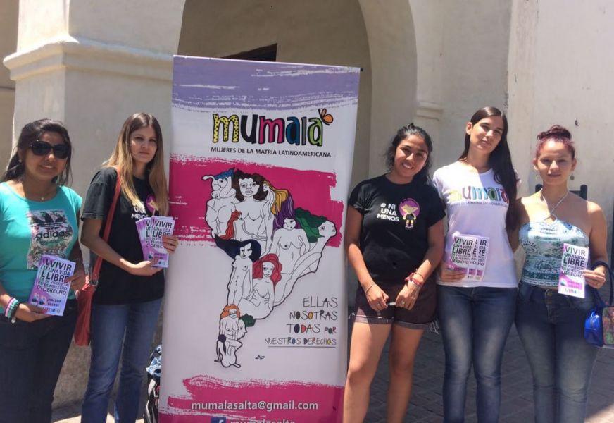 """La coordinadora de Mujeres de la Mumalá, Malvina Gareca reveló que """"las niñas desde los ocho años sufren acoso callejero en Salta""""."""