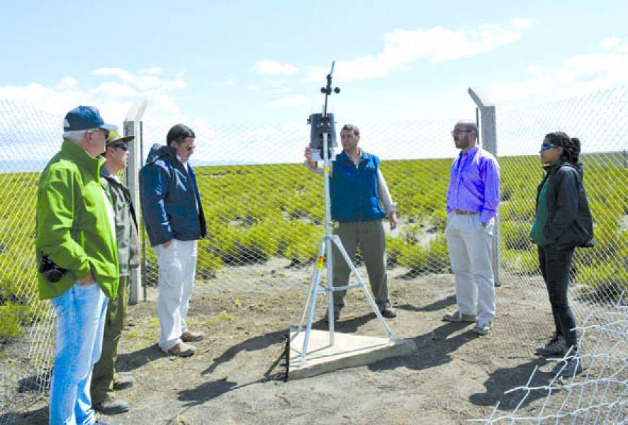 La estación meteorológica cuenta con un software de avanzada que ofrece datos en tiempo real.