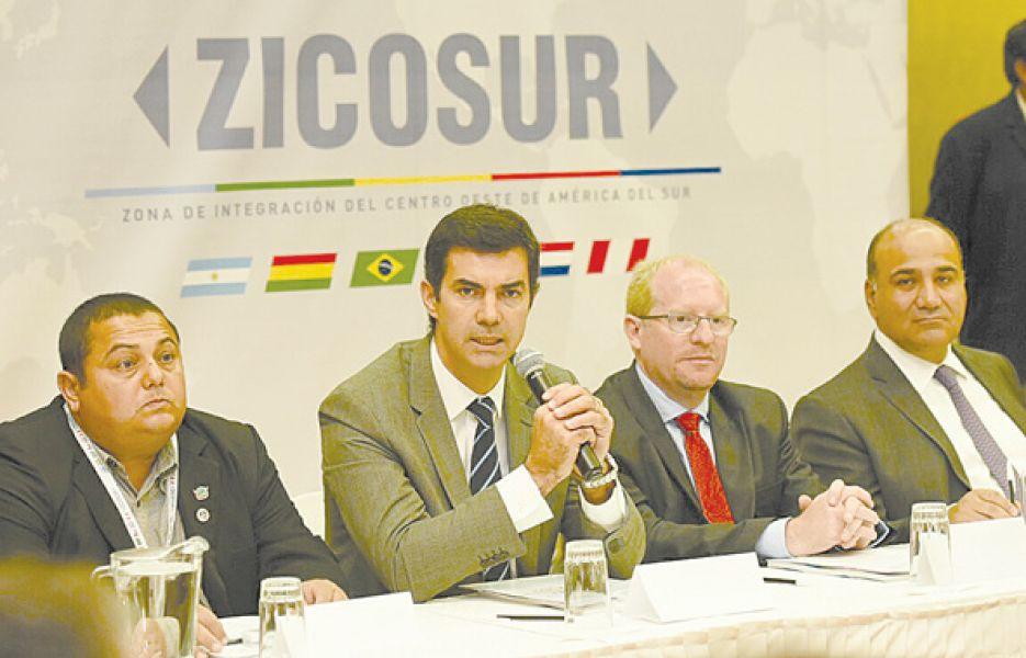 En Tarija se desarrolló la reunión de la ZICOSUR.