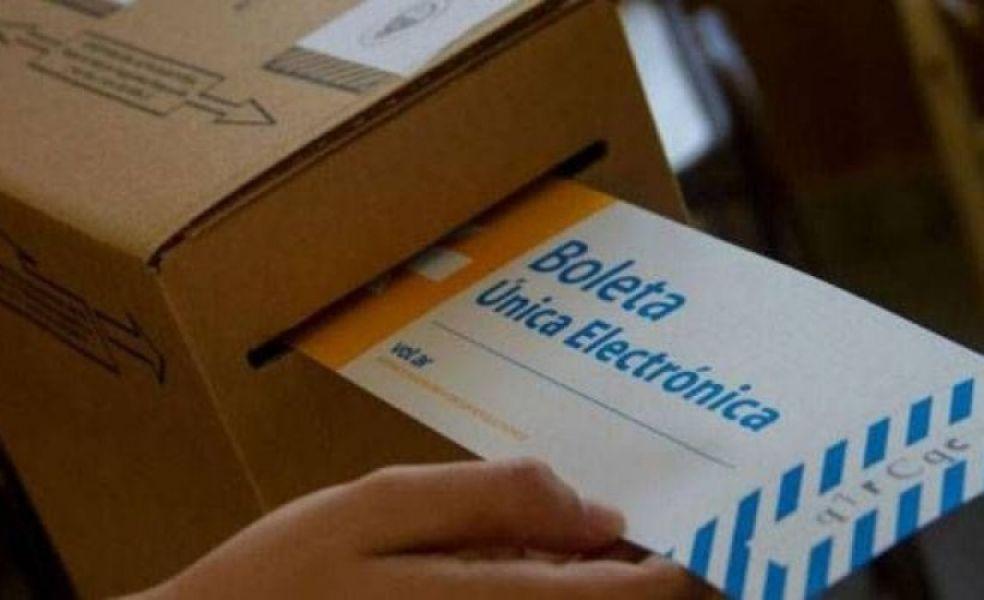 Las primarias y las generales provinciales utilizarán boleta única electrónica y las nacionales voto papel.