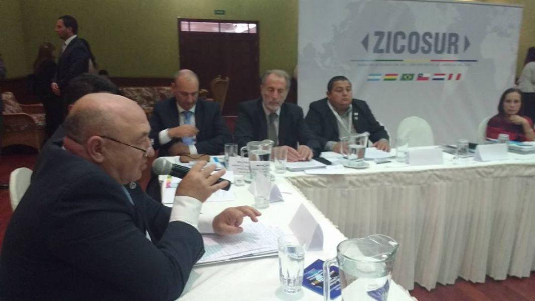 Lapad recibió aval a su pedido de integrar a la ZICOSUR al Foro del Gran Chaco.