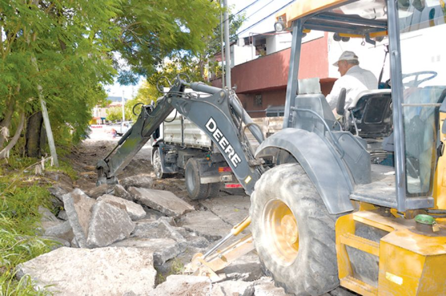La Municipalidad habilitará en los próximos días las primeras 66 obras de bacheos concluídas.