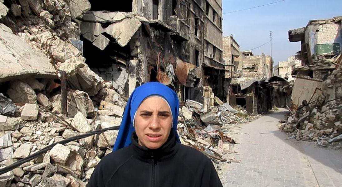 La hermana Guadalupe relató sus vivencias y el aprendizaje durante cuatro años de la guerra en Medio Oriente.