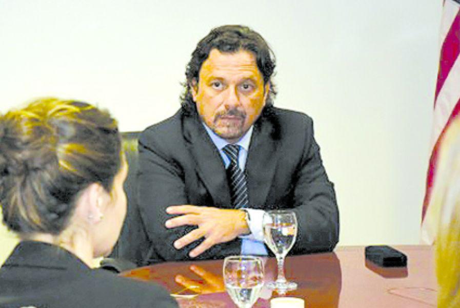 Gustavo Sáenz uno de los invitados de Urtubey a la ronda de diálogo con fuerzas políticas de la oposición.