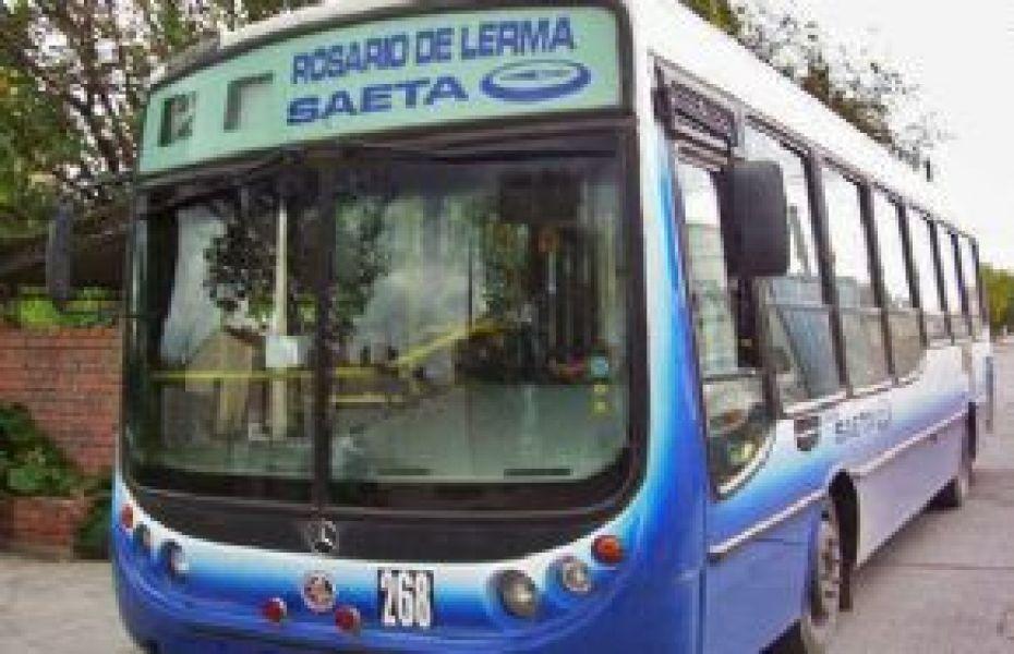 Una de las vías de solución del transporte Cerrillos-Rosario de Lerma, es que haya más unidades de refuerzo y más frecuencias.