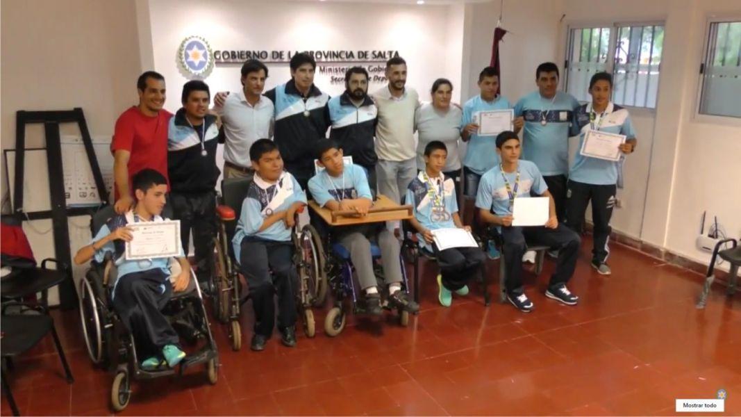Los deportistas especiales que fueron distinguidos por sus logros en Brasil