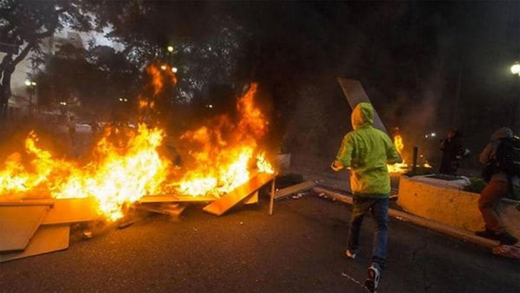 En el centro de Río de Janeiro se registraron duros enfrentamientos entre manifestantes y policías.