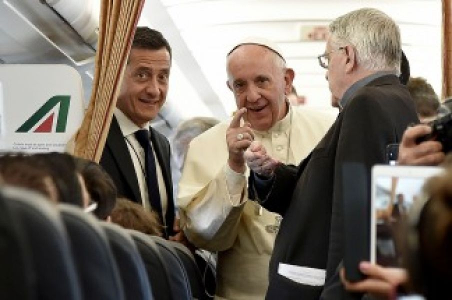 El Papa estuvo dos días en Egipto y retornó ayer a Roma.