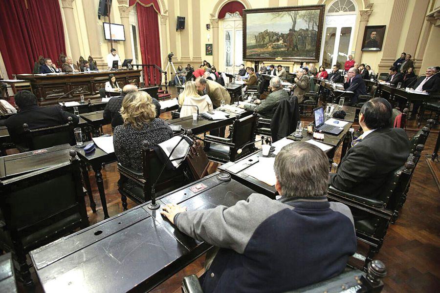 Hoy sesionará nuevamente la Cámara de Diputa- dos.