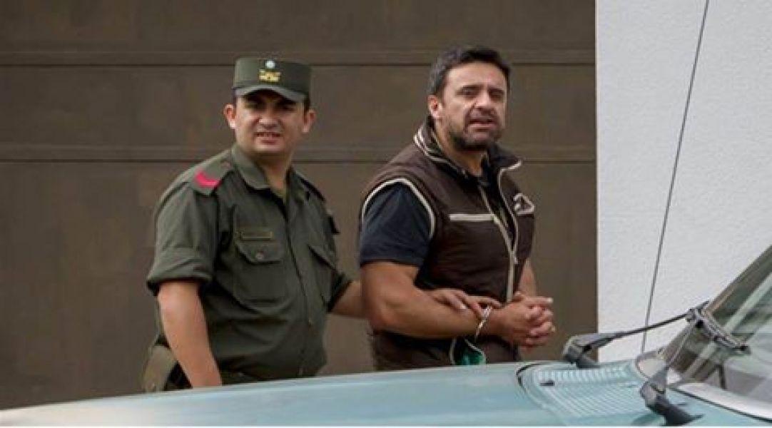 El denunciado empresario de la carne Iván Cabezas, cuando fue detenido en 2015.