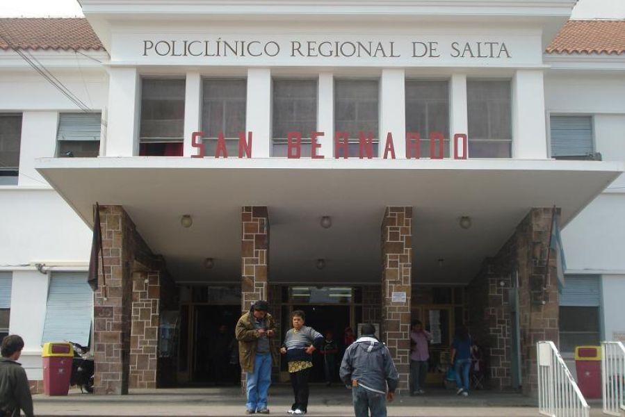 En el hospital San Bernardo falleció Juárez barrios