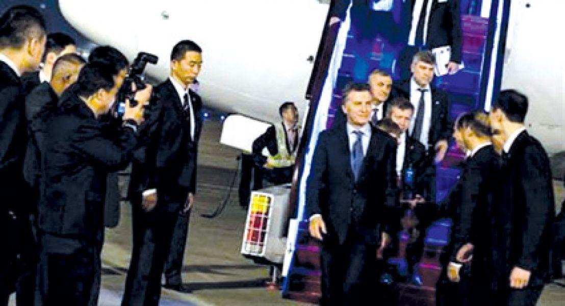 Finaliza el recorrido de Macri por China y su próximo destino es Japón.