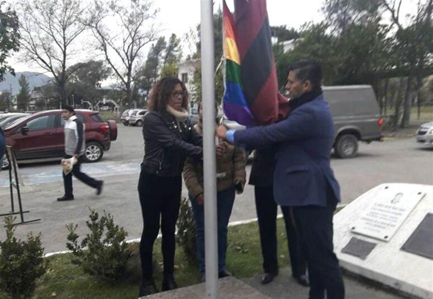 """Marta Cesar, dijo que Cánepa y Villada """"son los que se oponen y odian y desprecian y discriminan a la población LGBTIQ""""."""