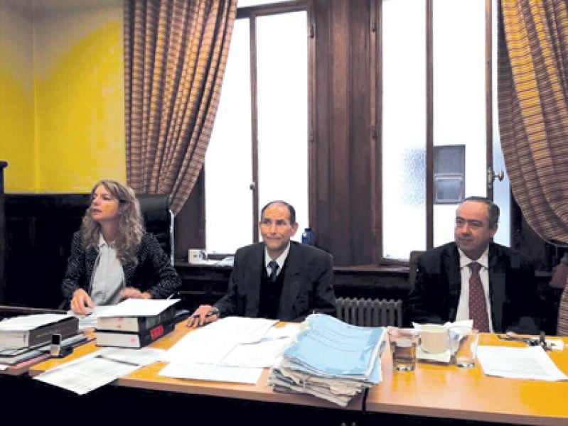 Gabriela Catalano, Domingo José Batule y Abel Fleming, del TOF 2 Salta.