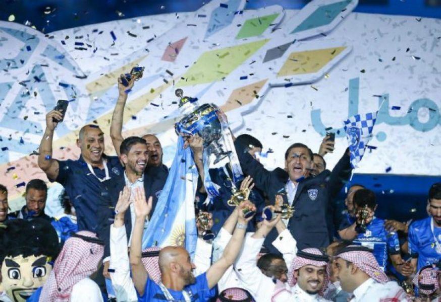 El ex DT de River obtuvo la Copa del Rey del país asiático.