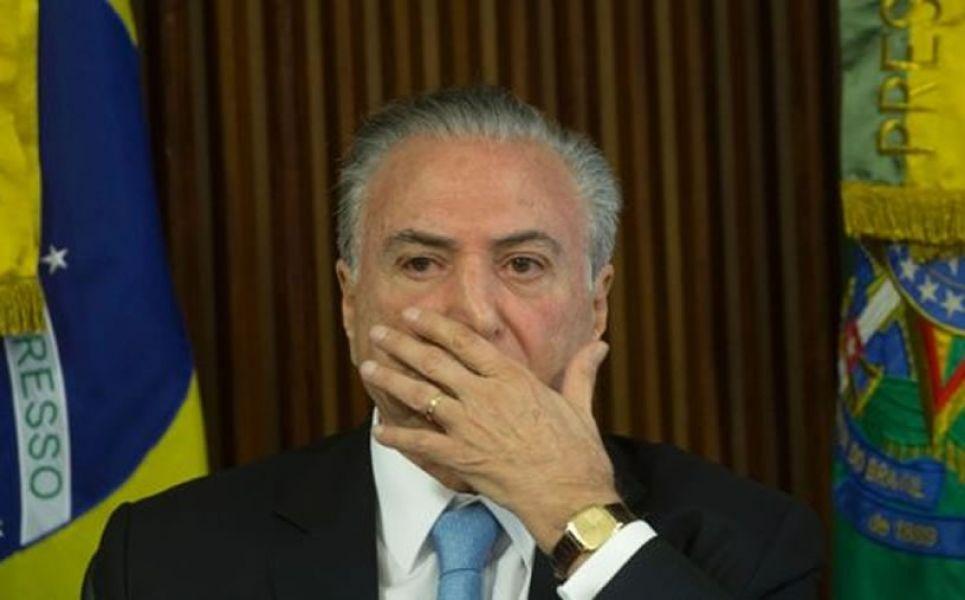 Temer habría avalado comprar el silencio del exparlamentario Eduardo Cunha, quien está preso desde hace varios meses.