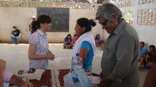 El coordinador Francisco Pérez, en una de las tantas actividades sobre el tema.