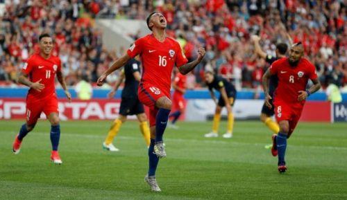 Festejo. Martín Rodríguez a todo grito tras el empate.