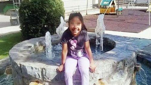Naiara Briones, nena de 8 años