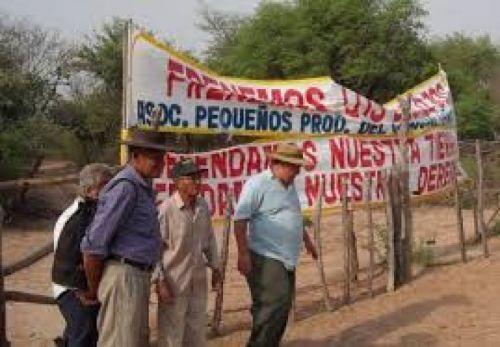 Hay algunos casos en el conflicto por tierras de campesinos que ya están judicializados.