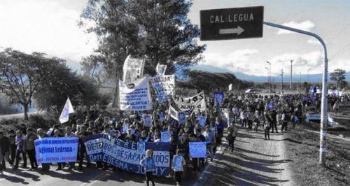 A las 15.30 comenzará la marcha de Calilegua a Libertador.