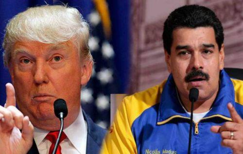 El presidente de Venezuela, Nicolás Maduro responde a las sanciones económicas que anunció Donald Trump.