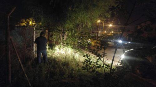 La policía recapturó al prófugo en una casa del barrio Grand Bourg.