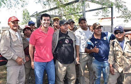 El  gobernador estuvo en Orán en los operativos de prevención una nueva epidemia de dengue.
