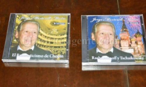 Jorge Adolfo Martorell y algunos de sus trabajos como músico