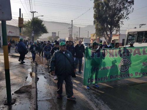 El paro por 24 horas de trabajadores nucleados en ATE inicia hoy a las 8, con movilización desde la Planta Hormigonera.