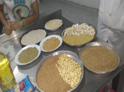 La barrita de cereal que se fabricará está compuesta por varios cereales que se producen en la zona.