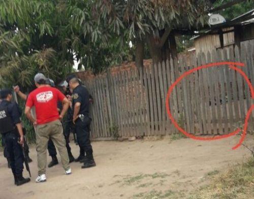 La víctima de robo quedó muerto en el ingreso de su casa en Colonia Santa Rosa (Diario El Oranense.).