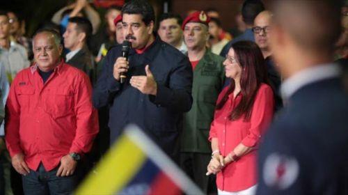 """Maduro, luego del triunfo del """"chavismo"""" en Venezuela, dijo que ganó la democracia."""
